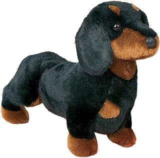 "Stuffed Spats Black and Tan Dachshund Dog 14"""