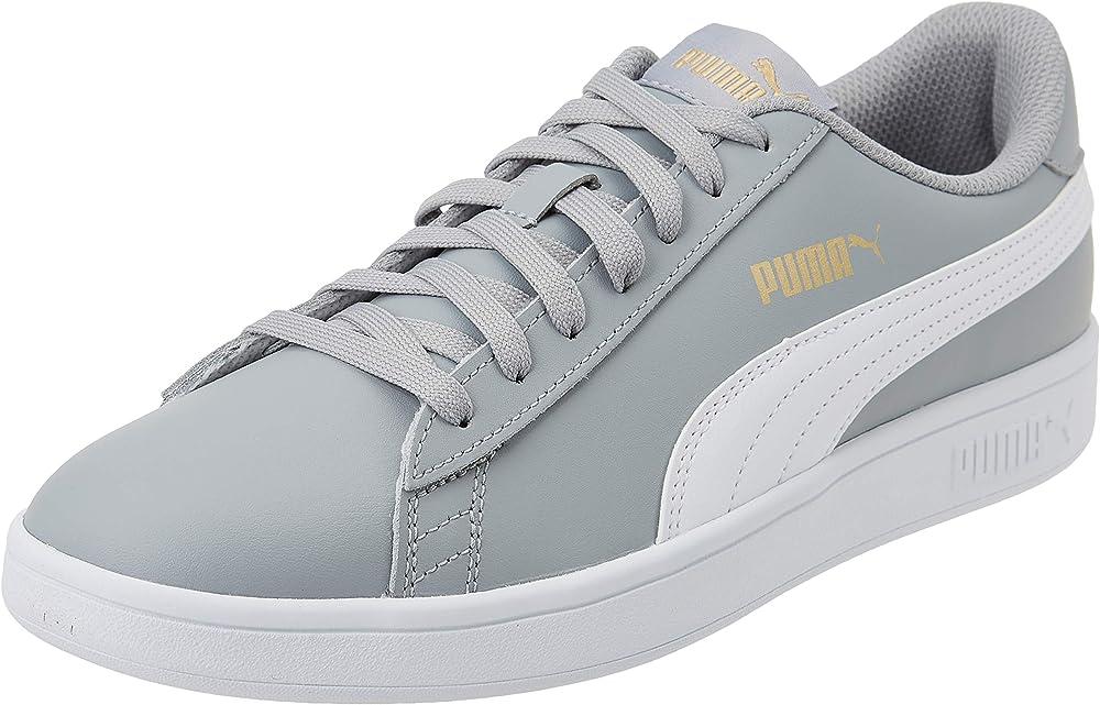 Puma smash v2 l` scarpe da ginnastica basse sneakers unisex in vera pelle 365215E