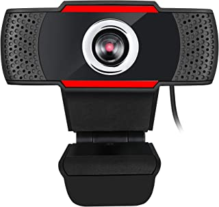 Adesso CyberTrack H3 Webcam 1.2 Megapixel 30 fps USB 2.0 1280x720 Video CMOS Sensor Manual-Focus Microphone for PC & Lapto...