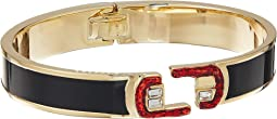 Marc Jacobs - Double J Logo Scream Hinge Cuff
