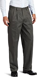 Men's Big and Tall American Chino Double Pleated Pant