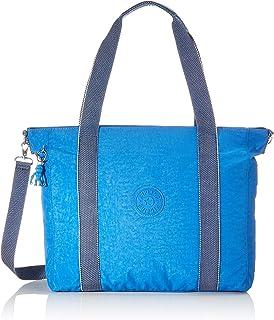 Kipling ASSENI Sac de plage, 49 cm, 20 liters, Bleu (Wave Blue)