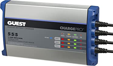 Guest 2713A ChargePro On-Board Battery Charger 15A / 12V, 3 Bank, 120V Input