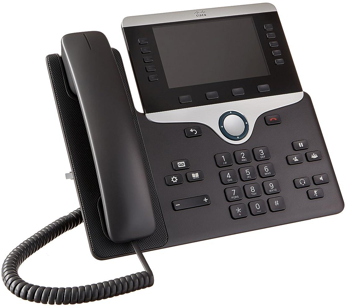 インフラ増幅器隣接Cisco 8851 Wired handset Black