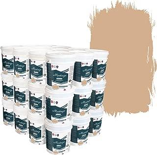 Montage Signature Interior/Exterior Eco-Friendly Paint, Desert Tan - Low Sheen, 180 Gallon (Pallet of 36, 5-Gallon Buckets)