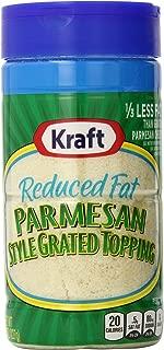 Kraft Parmesan Reduced Fat (8 oz Bags, Pack of 6)