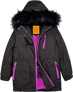 Girls Waterproof Ski Jacket Parka Outdoor Windproof Warm Winter Coat