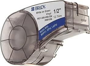 Brady M21-500-595-GN BMP21 Tape B- 595 Indoor/Outdoor Vinyl Film Size: 1/2