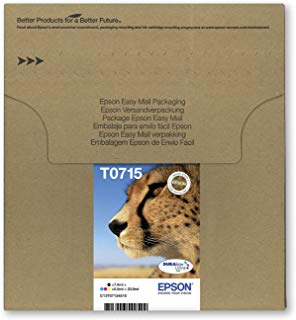 Epson C13T07154511 - Multipack 4-colours T0715 EasyMail, Ya disponible en Amazon Dash Replenishment