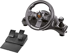 Best Subsonic SA5156 - Drive Pro Sport Racing Wheel for Playstation 4, PS4 Slim, PS4 Pro, Xbox One, Xbox One S and PS3 Reviews
