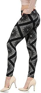 | Lush Moda | Women's Extra Soft Leggings | Variety of Prints | One Size