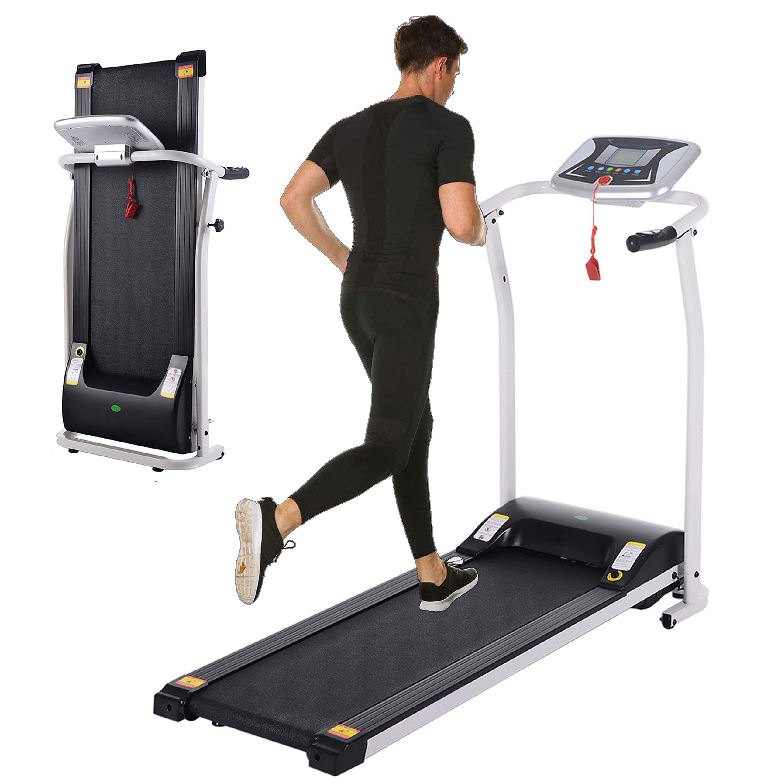 Folding Treadmill Running Jogging Machine Fitness Mechanical Treadmil Bluetooth