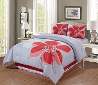 Best coral and white comforter set Reviews