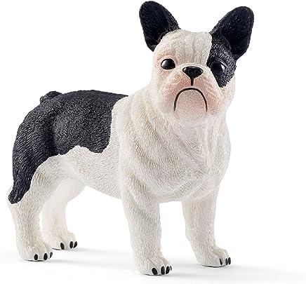 Schleich-13877 Bulldog francés, Color Negro, Blanco (13877