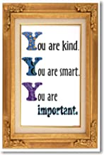 You Are Kind You Are Smart 2 - NEW Classroom Motivational Poster