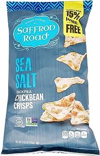 Saffron Road, Crisps Chickbean Sea Salt, 4.03 Ounce