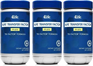 x 3 Transfer Factor Plus Tri-factor - (60 count) 3 Bottles by Transfer Factor Plus Tri-Factor