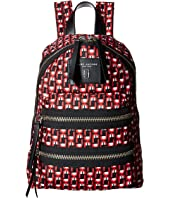 Marc Jacobs - Logo Scream Printed Biker Mini Backpack