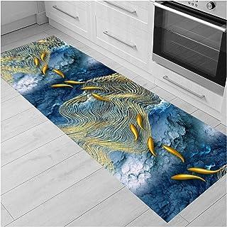 3D Runner Rug for Hallway, Comfy Soft Non Slip Entrance Mat, Living Room Kitchen Walkway Area Rugs, Decoration Carpet, 50c...