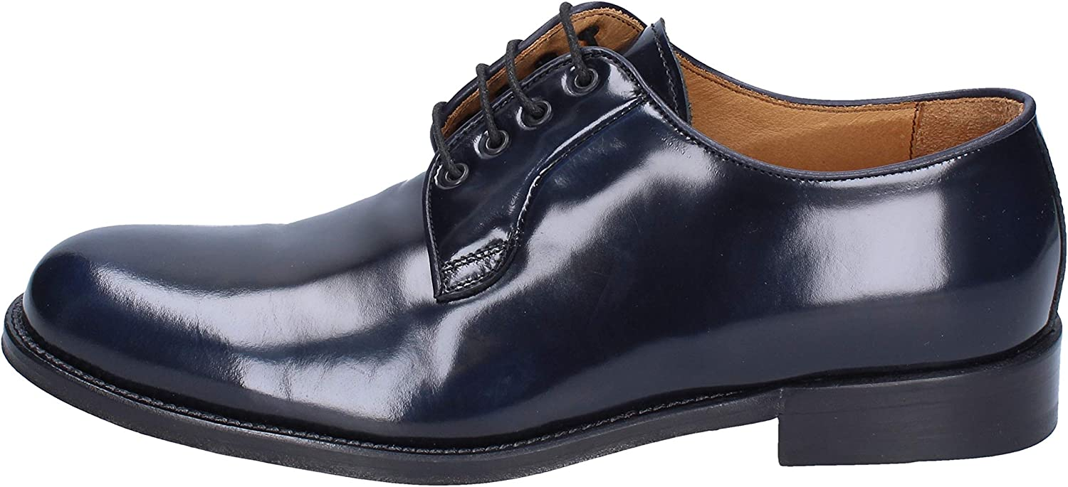 ALEXANDER Oxfords-shoes Mens Leather bluee