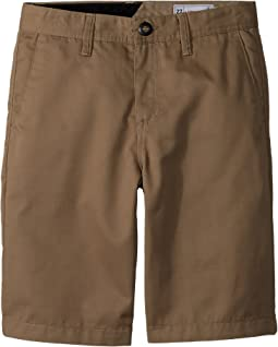 55c26a6a9b Volcom kids frickin chino shorts big kids | Shipped Free at Zappos