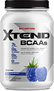 SCIVATION XTEND BCAA Blue Raspberry 90 Servings, 124 g