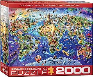 EuroGraphics (EURHR Crazy World 2000Piece Puzzle 2000Piece Jigsaw Puzzle (8220-5343)