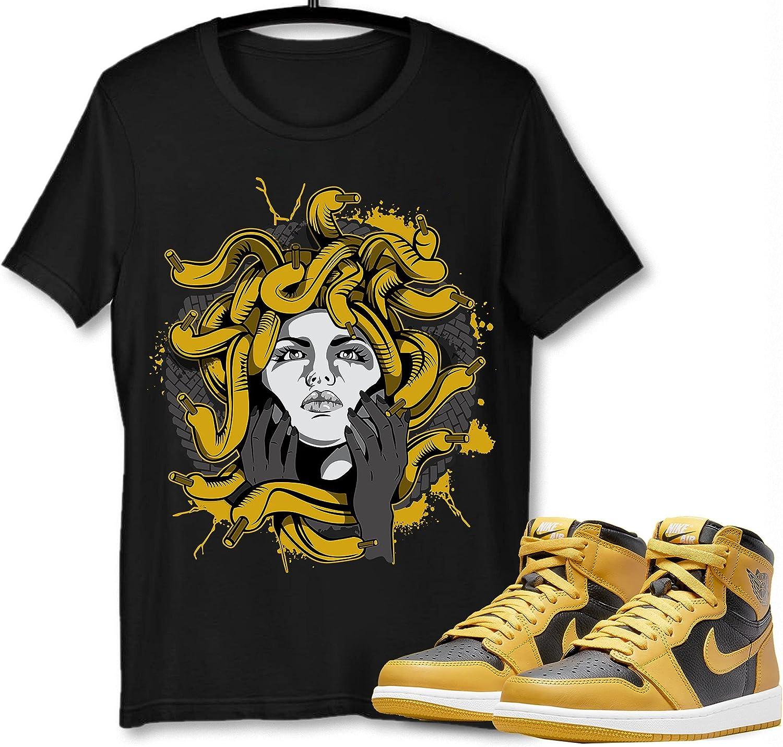 #Medusa T-Shirt to Match Jordan 1 Pollen Snkrs To Complete Free Indefinitely Shipping Sneaker Got Em
