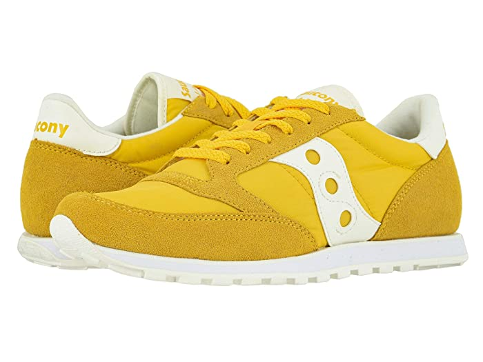 Saucony Originals  Jazz Low Pro (YellowithSand) Mens Classic Shoes