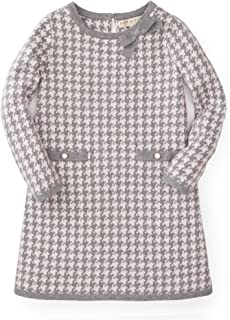 Girls' Bow Detail Sweater Dress