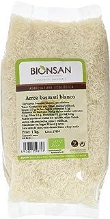 comprar comparacion Bionsan Arroz Basmati Blanco Ecológico - 3 Paquetes de 1000 gr - Total: 3000 gr