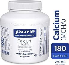 Best pure encapsulations calcium mcha Reviews