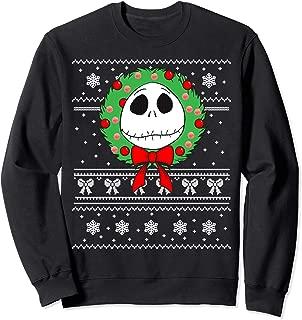 Disney Jack Skellington Wreath Sweatshirt
