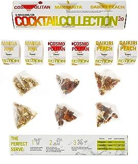 Té Tonic COCKTAIL COLLECTION Nº20 - Nanopack 6 piramidevormige theezakjes en 3 verschillende aroma's en smaken voor de bes...