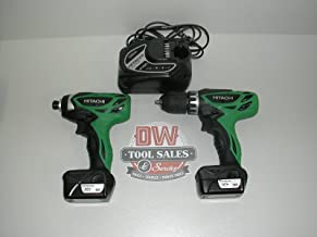 Hitachi KC10DFL 12-Volt Peak 3-Tool Li-Ion Combo Kit with Carrying Bag (Discontinued by the Manufacturer)