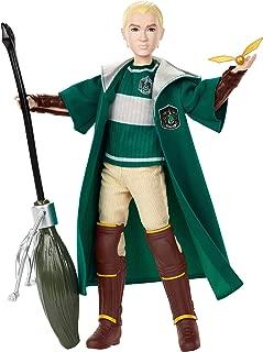 Mattel GDJ71 Harry Potter Quidditch Draco Malfoy, Multicolor