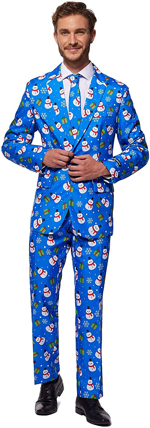 SUITMEISTER Christmas Suits Fees free for Men in Courier shipping free shipping – Ugly Different Prints X