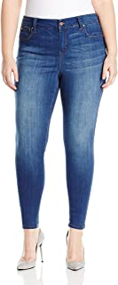Celebrity Pink Jeans Womens Plus Size Celebrity Pink Infinite Stretch Mid Rise Skinny Jean Jeans - Blue