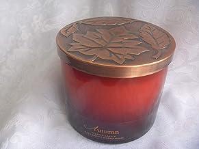 شمعة الخريف من باث آند بودي ووركس - رائحة الخريف 425 مل كبيرة 3 فتيل للشمعة للخريف