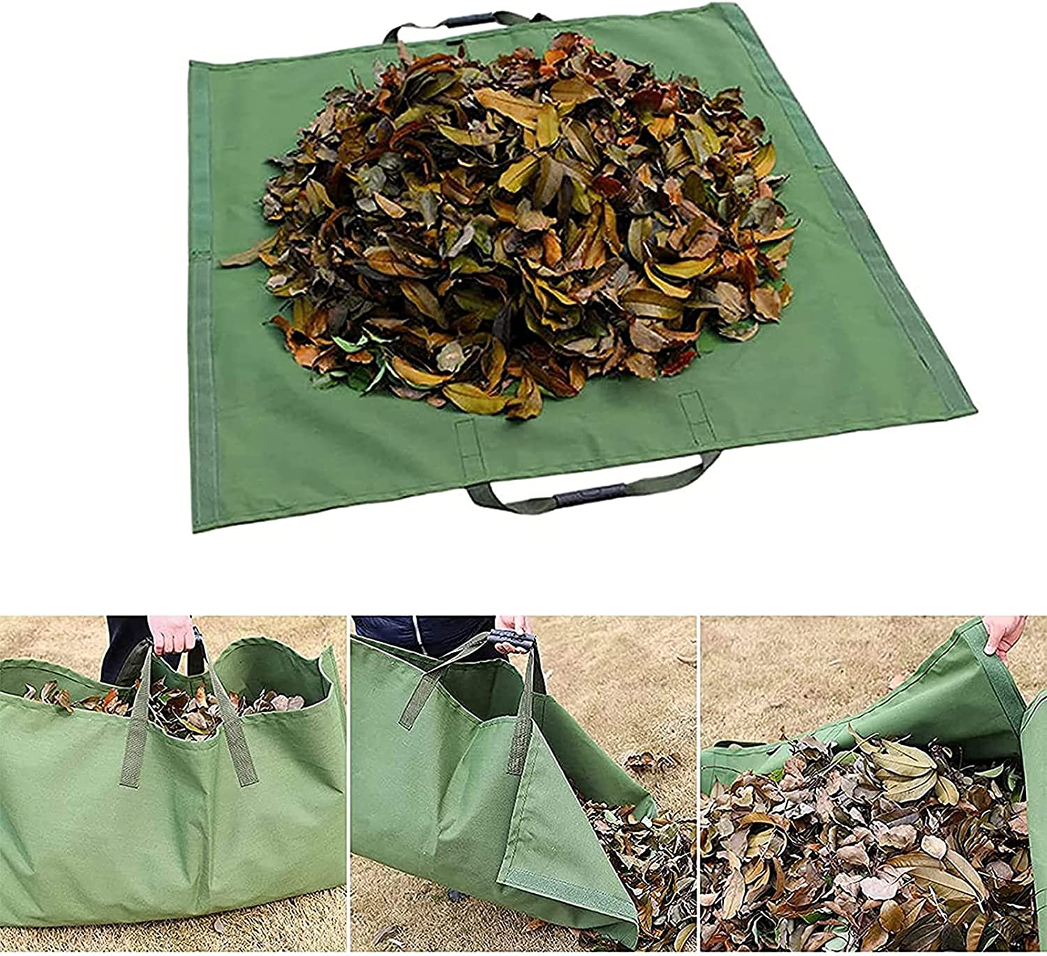 2 Latest item in 1 Today's only Leaves Storage Bag Duty Collect Multipurpose Heavy Trash