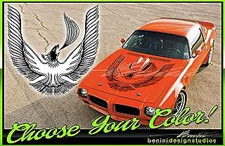 Pontiac Firebird Trans Am Turbo Hood Bird Custom Decal 45