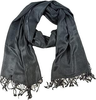 Guru-Shop Indischer Pashmina Schal/Stola, Herren/Damen, Rot, Synthetisch, Size:One Size, Schals Alternative Bekleidung