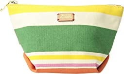 Frances Valentine - Small Cosmetic Santa Cruz Stripe