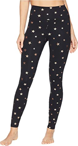 Foil Printed Perfect High-Waisted 7/8 Leggings