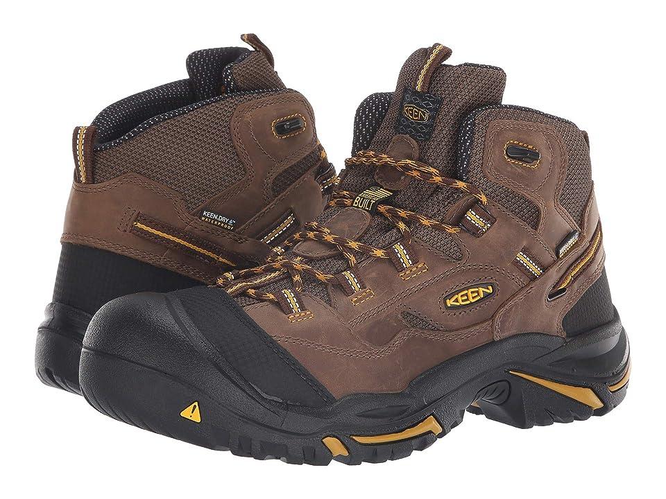 Keen Utility Braddock Mid Soft Toe Waterproof (Cascade Brown/Tawny Olive) Men
