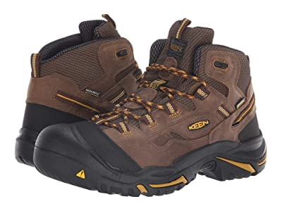 Keen Utility Braddock Mid Soft Toe Waterproof (Cascade Brown/Tawny Olive) Men