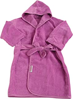 SILLY BILLYZ Organics Mini Bath Robe, Plum