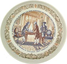 Limoges Marquis de Lafayette Legacy Collection plate Silas Deane the American Agent - CP1351