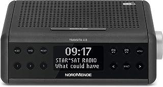 Nordmende Transita 115 DAB Radiowecker (DAB+, UKW, Snooze Funktion, Wecker, Sleeptimer) anthrazit