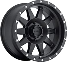 Method Race Wheels The Standard Matte Black Wheel with Stainless Steel Accent Bolts (15x7
